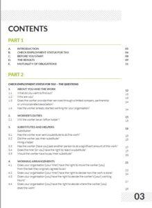 CEST Expplained Contents Page